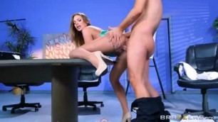 Brazzers Juelz Ventura with big tits and super booty gets some office big dick