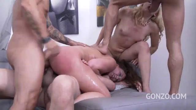 Lesbischer Spritzwahn mit Maddy Oreilly und AJ Applegate