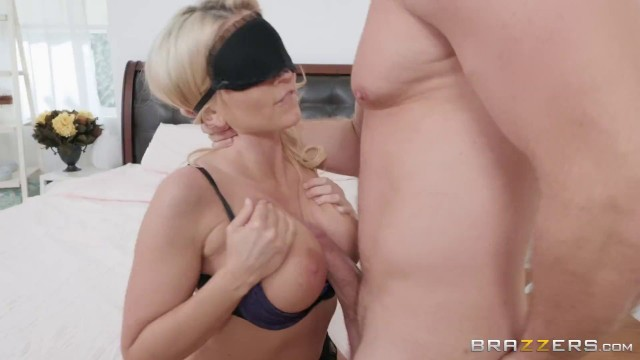 Hottest stepmom cherie deville rewards stepson with bj 7