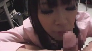 Incredible Japanese girl Aimi Sakamoto in Hottest Office Blowjob