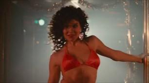 Paula Trickey nude golden bikini set Maniac Cop 2 1990