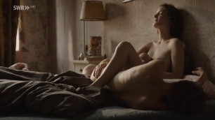 Lena Lauzemis nude Vicky Krieps nude in lesbian sex scene M wie Martha 2015