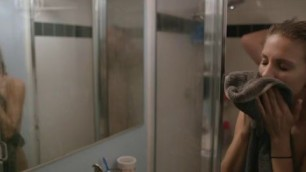 Sarah Baldwin nude tits and ass in sex scene Slumlord 2015