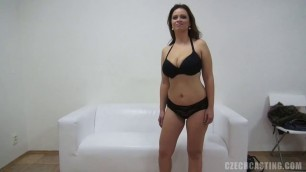 CzechCasting Alena 7657 She has a beautiful natural boobs and a nice face