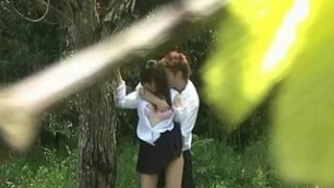 Real sex outdoors caught on tape amateur fucking
