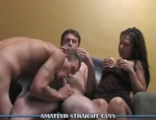 Watching Wife Suck Cock