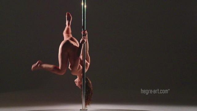 Nude pole dance