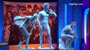 NAKED MEN ON PUBLIC TV hot telecast