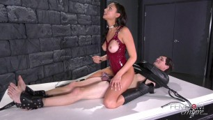 Dazzling Brunette Ariana Marie - All Locked Up