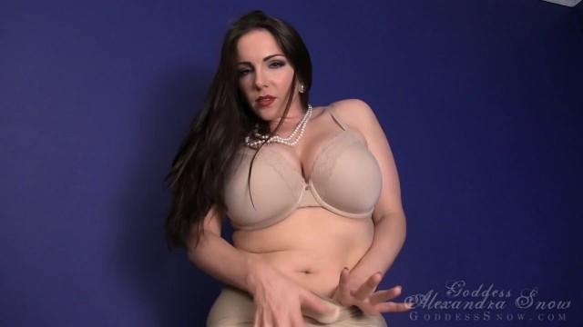 Alexandra snow nude