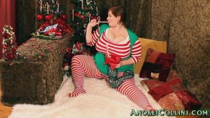 Anorei Collins - Fiery Anorei the Naughty Elf Behind The Scenes 1.mkv