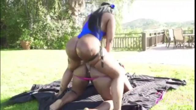 Lesbian Strap Big Tits Babe