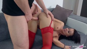 GERMAN SCOUT - CUTE MILF TALK TO FUCK AT REAL PICKUP CASTING