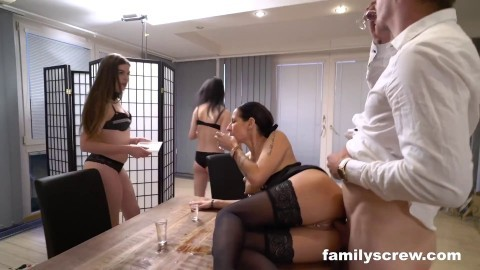 Gran Fam Maid Party 1 Funny Cum