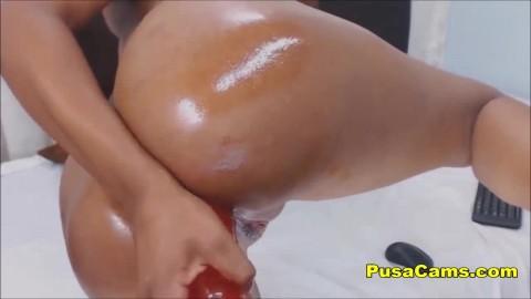 Skinny Ebony Teen With Big Ass Real Thot And Supet Hot Lahia Crox