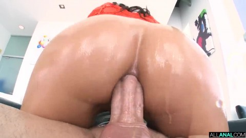 Gaping Anal 3 Way With Cassie And Nelly Friend Fucking My Wife