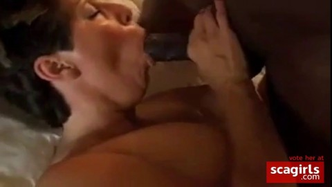 Hubby want Girly to Swallow Black Cum.