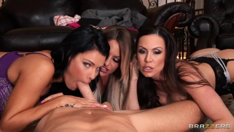 My Three Wives Peta Jensen, Kendra Lust And Kissa Sins: Remastered