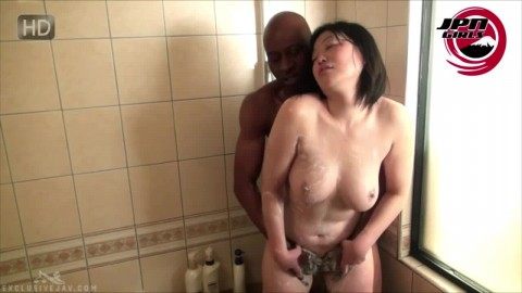 Momo Mature Chubby Japanese Cougar Sucks Big Black Cock For St Time Husband With Wife Sex Video
