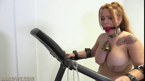 Hucows Lisa On The Treadmill Sexy Asses
