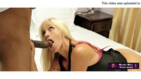 Busty Blonde Cheating Wife Dani Dare Fucked Deep and Hard By Black Bull