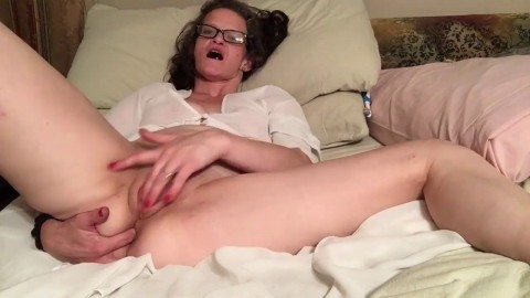 Amber loves to masterbate lots of toys
