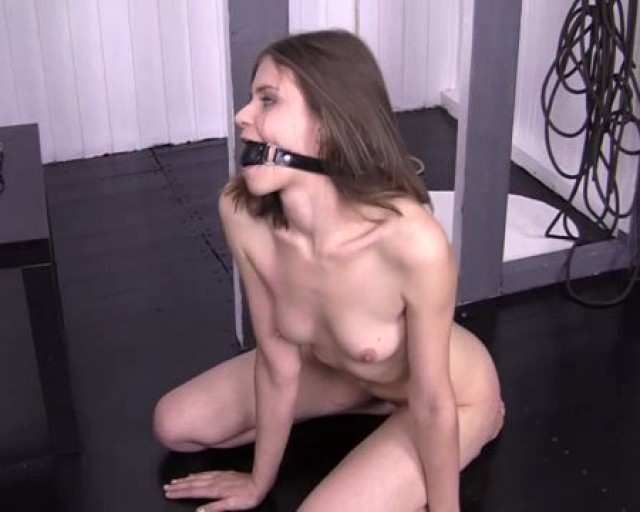 Anna bondage anal slave threesome hd 4