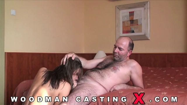 Rosee Hungarian Teen Girl Fuck Old Man Anal Sex Woodman -8283