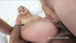 Hot blonde Katie Montana reamed by 2 cocks DPed All sex Anal Katie Montanarq
