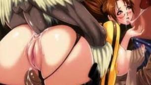 Hentai Lara Croft brown big boobs and ass 720 hd porn
