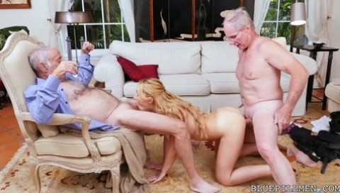 Girl stuffs ball in pussy
