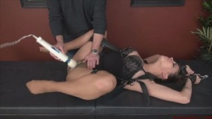 hard BDSM play with toys No Mercy Through The Pantyhose