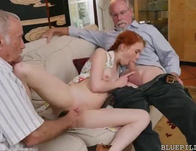 Hot Redhead Cock Dolly Little Swallow And Banged Two Old -9270
