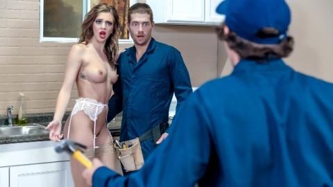 The Gang Makes A Porno With Petite Tiffany Watson: A DP XXX Parody Episode 4
