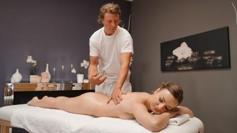 Massage Rooms - Perky Tits Brunette Lilit Sweet Erotic Creampie