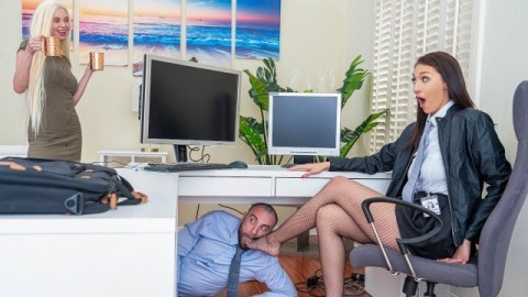 Reality Kings - Turning Bella Rolland Off And On Again