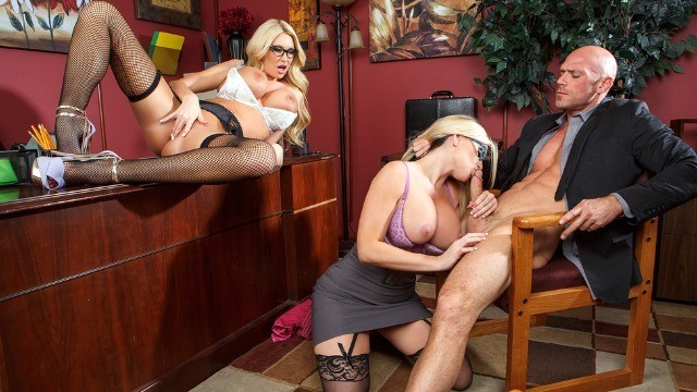 Brazzers - Jayden Jaymes, Kayla Kayden And Others In Best Of Brazzers Hottest Bosses