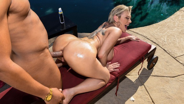 Brazzers - Hard Cock In Dee Williams Ass Might Do The Trick