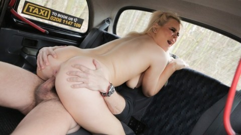 FakeTaxi - Blonde Brit Gina Varney Fucked by Euro Cabbie