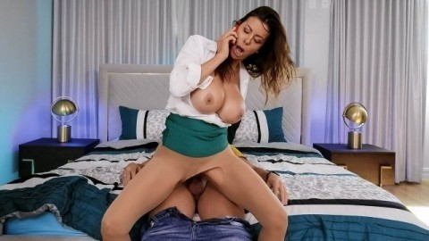 Alexis Fawx In Home Office Freeuse